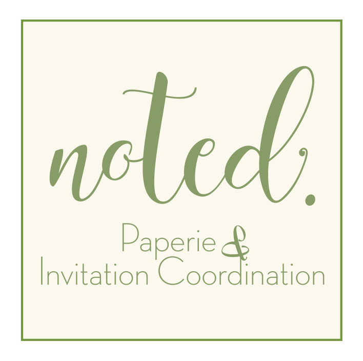 Noted Invitation Paperie & Coordination